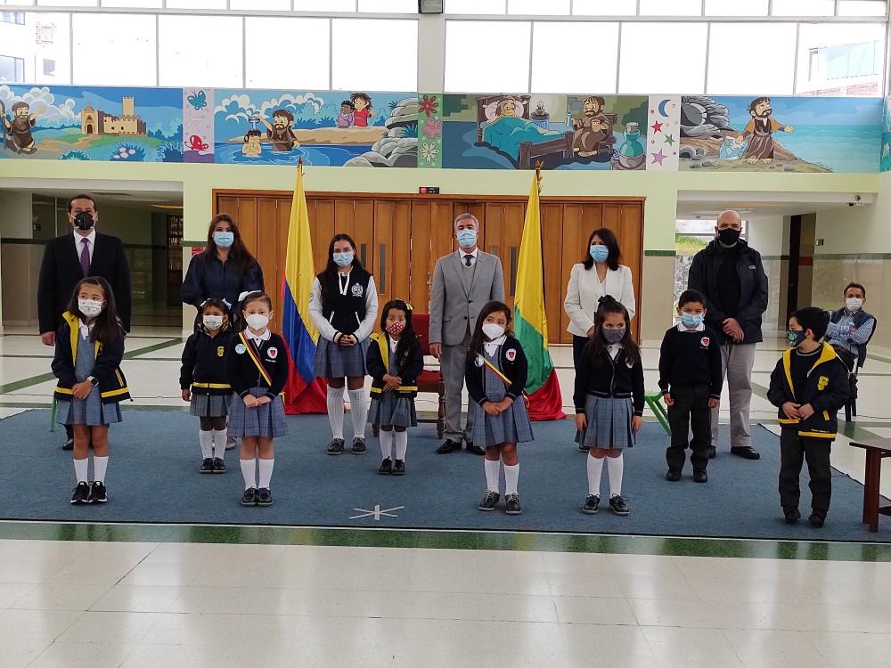 Posesión del Consejo Estudiantil de Preescolar