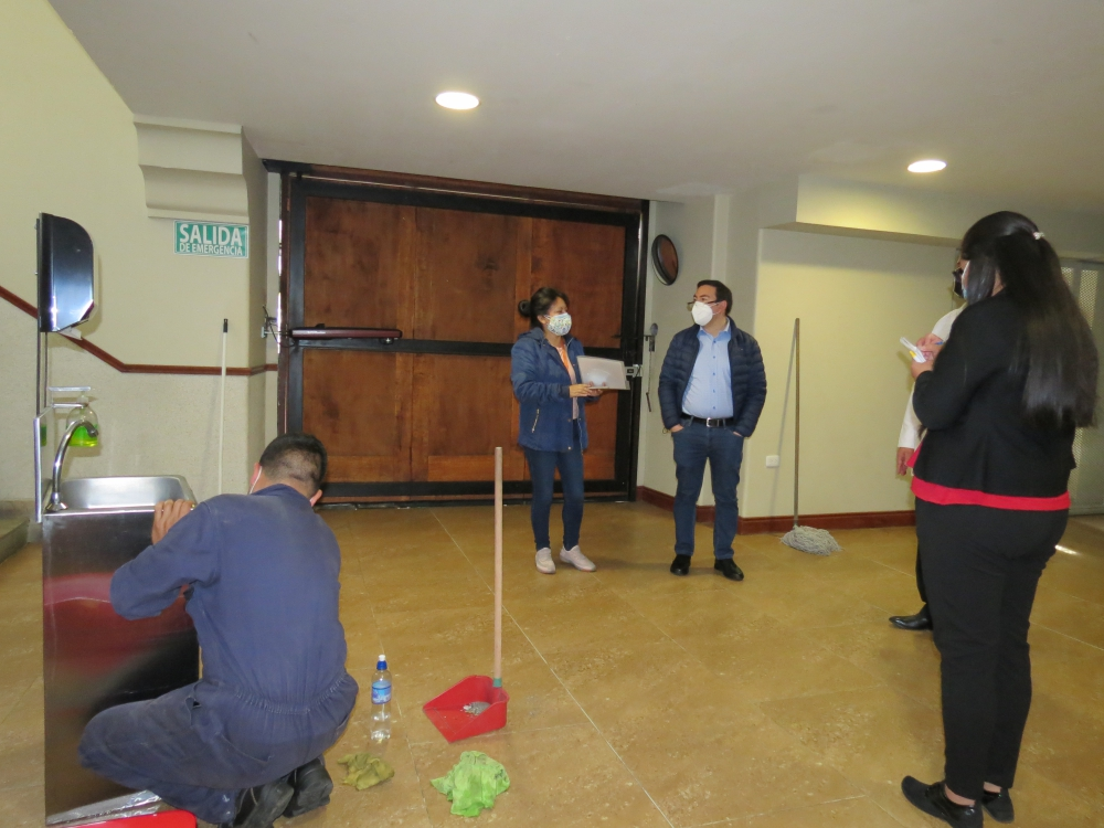 Secretaría de Educación visita el Colegio